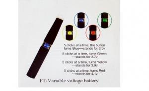 Tigara electronica CE4+ cu baterie voltaj variabil FT de 650 mah | 10 ml Lichid Bonus, la 54 RON in loc de 109 RON