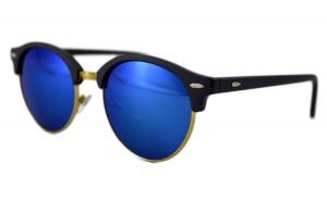 Ochelari de soare Retro II Bleumarin - Auriu