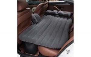 Saltea auto gonflabila Reflection Travel Bed, 138 x 85 x 45 cm, suporta 600 kg, Gri + Pompa Auto rapida