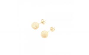 Cercei placati cu aur Lia