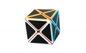 Cub Rubik JuXing Dino Fibra de carbon,