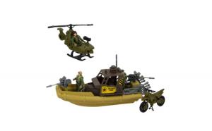 Barca militara de jucarie