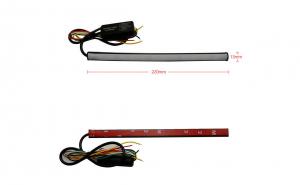 Lumini de zi DRL 30cm cu functie de semnalizare dinamica si flash