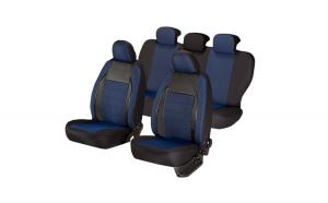 Set huse scaun elegance albastru