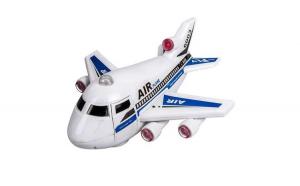 Avion cu un sunet real de decolare, aterizare si operare, pentru copii