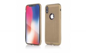 Husa de protectie Vetter iPhone XS, X Vetter GO  Vent Soft Auriu
