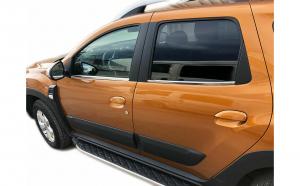 Ornamente crom chedere geamuri Dacia Duster II din 2018 (set de 4 bucati)