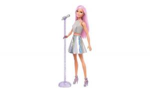 Papusa Barbie cantareata, 11.5 x 6.5 x