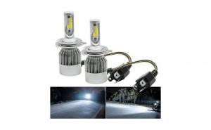 Set 2 becuri cu LED AUTO H4, 6000K, 36w