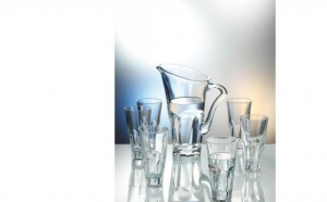 Set cristal de Bohemia 6 pahare + 1 carafa, la 162 RON in loc de 329 RON