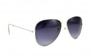 Ochelari de soare Aviator  - Bleumarin - Argintiu la doar 25 RON in loc de 50 RON