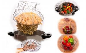 Set 2 cosuri pentru clatirea, prajirea, fierberea sau oparirea alimentelor, la doar 39 RON in loc de 99 RON! Garantie 12 luni!