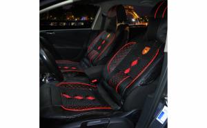 Huse scaune auto universale, Calitate Superioara, Piele Ecologica + Material textil