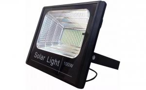Proiector solar LED 100 W + panou solar
