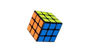 Cub Rubik 3x3x3 Moyu  black, 187CUB