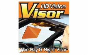 VISOR HD Vision - VizClear HD - Parasolar cu 2 straturi, zi noapte, night View, la 44 RON in loc de 99 RON