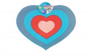 Covoras baie in forma de inima, la doar 11 RON in loc de 22 RON
