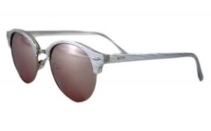 Ochelari de soare Retro II Gri - Argintiu Sidefat