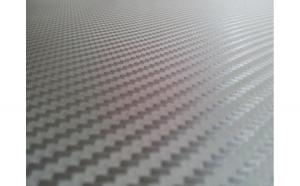 Rola folie carbon 3D antracit gri inchis cu tehnologie de eliminare a bulelor de aer 10m x 1.5m