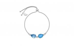 Bratara Pear Double Blue Mini