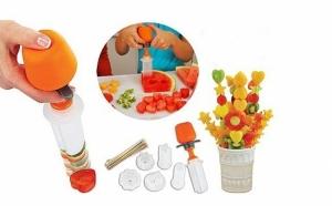 Set de ornare fructe si legume, 6 forme