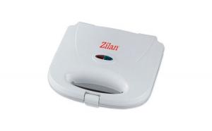 Sandwich-maker Zilan ZLN-7628. Putere 750 W. Model grill.culoare  Alb