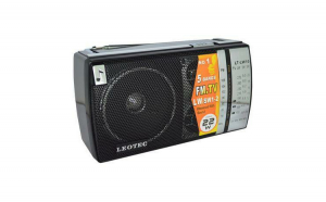 Radio Leotec LW-10/11, alimentare cu baterii si la retea 220V