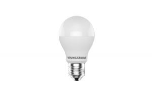 Bec LED Tungsram E27 forma clasic, 10W, 10000 ore, lumina calda