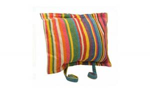 Perna cu dungi colorate pentru hamac - 40 x 30 x 10 cm