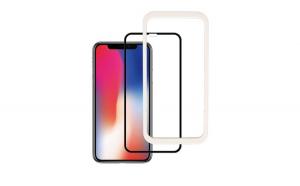 Folie Sticla Apple iPhone X Flippy 4D/5D Negru