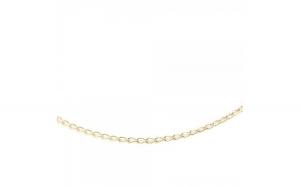 Lantisor 50 cm placat cu aur Carey