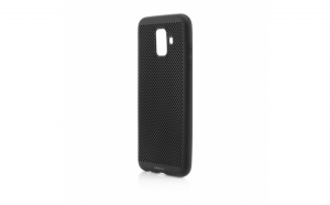 Husa de protectie Vetter Samsung Galaxy A6 Plus (2018) Vent Soft Negru