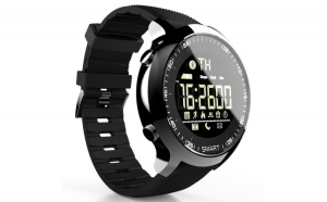 Ceas Smartwatch LOKMAT MK18, display 1.1 inch, rezistent la apa IP68(5 ATM), capacitate baterie 180mAh, pendometru, masoara pasii parcursi, distanta si arderea caloriilor