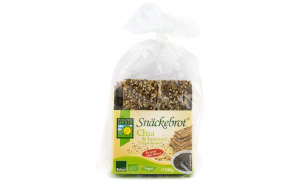 Paine Bio crocanta cu chia si seminte de