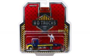 2013 International Durastar Flatbed - Michelin Service Center with Michelin Man Figure Solid Pack - H.D. Trucks Series 15 1:64
