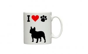 """Cana personalizata """"I love my dog"""", la doar 26 RON in loc de 38 RON"""