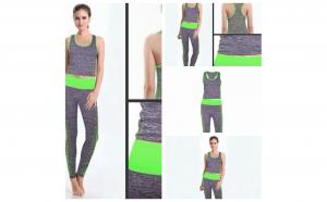 Costum pentru fitness sau yoga - 2 piese - bustiera si pantaloni