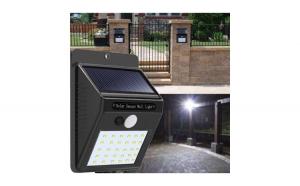 Lampa LED incarcare solara si senzor, Cadouri Craciun, Tatal tau