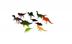 Set 10 dinozauri in cutie