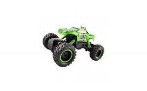 Masina de jucarie Rock Crawler King, cu telecomanda, 4X4, verde