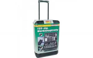 Troller portabil scule 122 piese   MANNESMANN   M29070