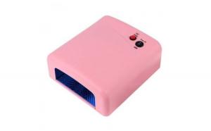 Lampa UV 36W cu 4 neoane, roz + Cadou