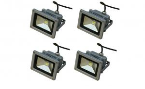 Pachet 4 proiectoare LED, 10w - echivalent 100w