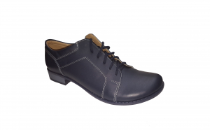 Pantofi dama din piele naturala neteda negri, bleumarin si rosii