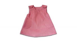 Sarafan reiat , roz prafuit,fete, 6 luni