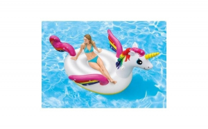 Saltea gonflabila Unicorn - Intex, Promotii racoritoare, Plaja