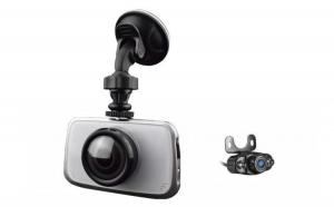 "Camera Auto Dubla Novatek T808R Camera Dubla FullHD Ecran 3.5"" la doar 529.9 RON in loc de 1049 RON"