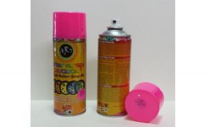 Spray vopsea cauciucata detasabila 1002 roz fluorescent