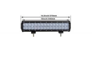 Led bar 90w, Rtm Online, Alimentare 12-24v, Patren 4D, 38 cm