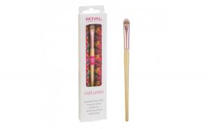 Pensula din bambus pentru aplicarea corectorului ROYAL Natural Concealer Brush, 100% Eco-friendly